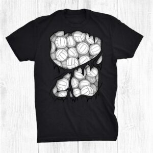 Volleyball Player Balls Inside Athlete Halloween Costume Shirt