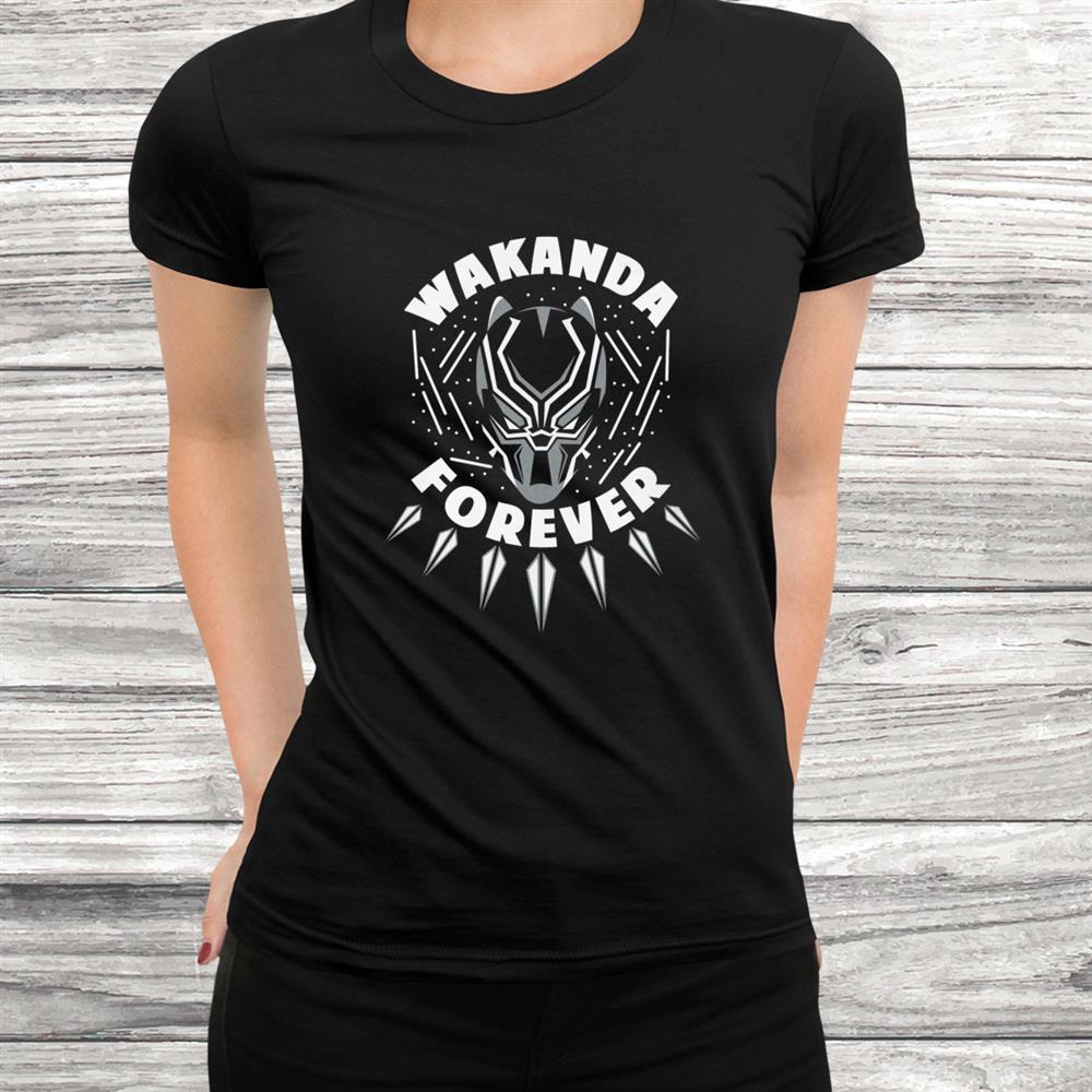 Wakanda Forever Panther King Shirt