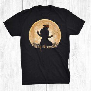Werewolf Boold Moonwolf Lycan Wolf Man Halloween Shirt