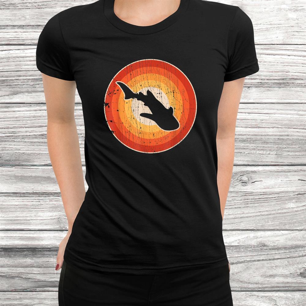 Whale Shark Retro Vintage 60s 70s Gifts Sea Animal Shirt