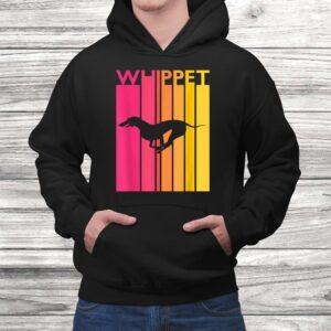 whippet shirt vintage dog tshirt whippet gift for dog lover Black 4