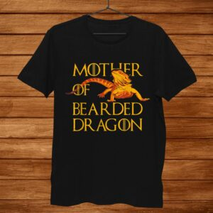 Woman Mother Of Bearded Dragons Women Reptile Mom Shirt