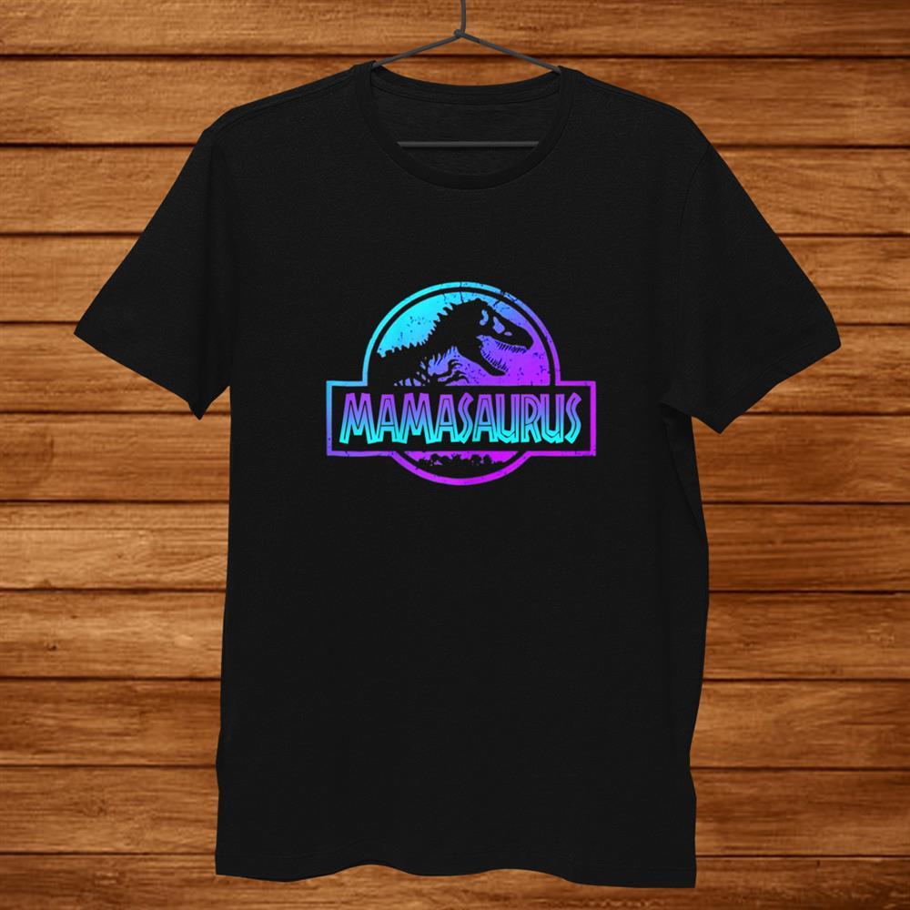 Womens Mamasaurus Dinosaur T Shirt Rex For Mom Shirt