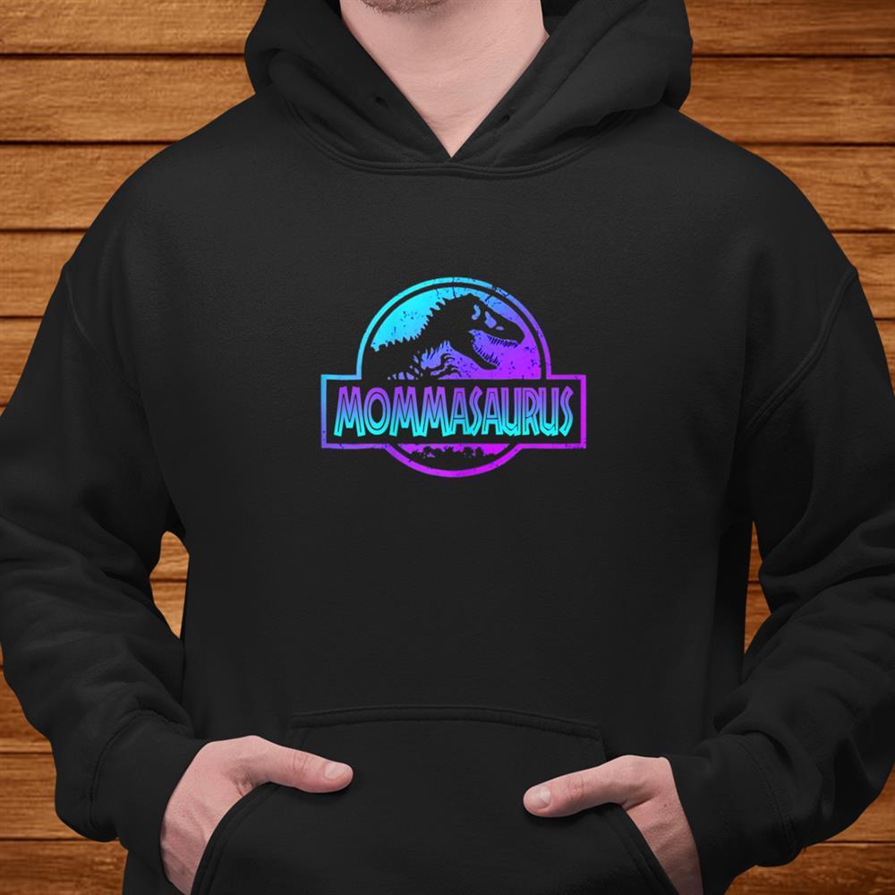 Womens Mommasaurus Dinosaur Tshirt Rex For Mom Shirt