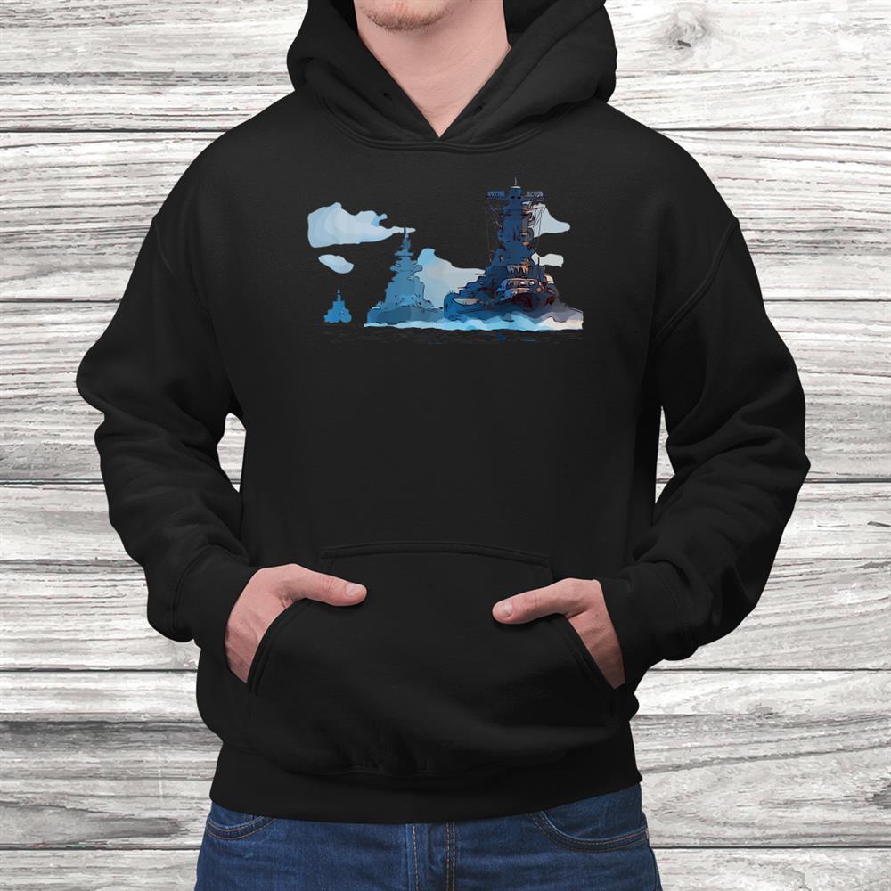 Ww2 Warships Naval Fleet Battleships Carriers Shirt