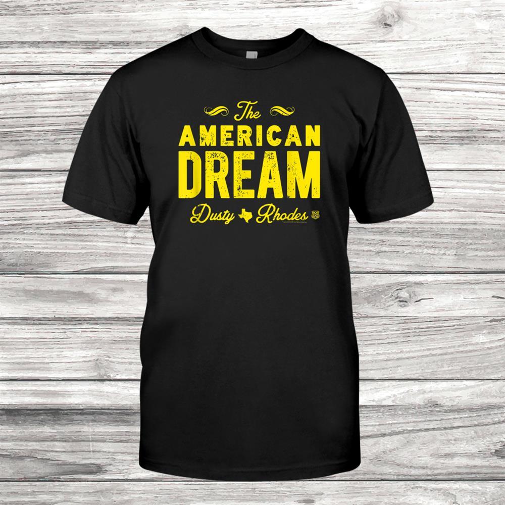 Wwe The American Dream Dusty Rhodes Shirt