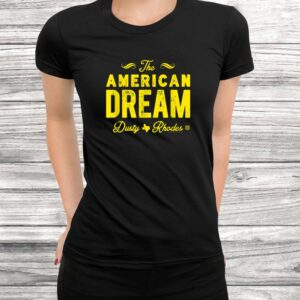 wwe the american dream dusty rhodes t shirt Black 3