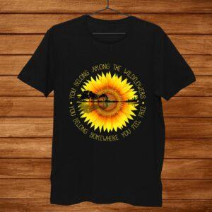 You Belong Among The Wildflower Sunflower Shirt