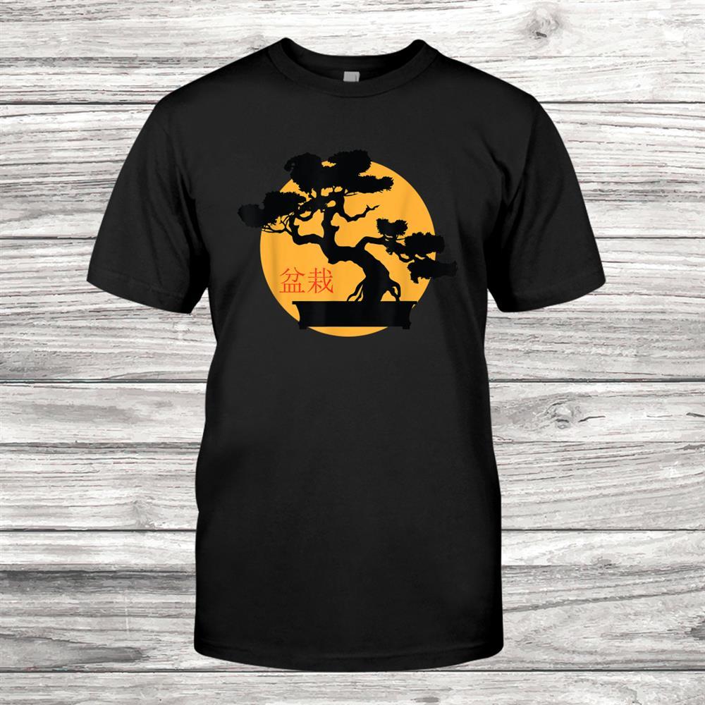 Zen Buddhist Penjing Japanese Bonsai Tree Shirt