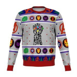 Avengers Gauntlet Ugly Christmas Sweater