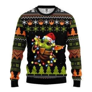 Baby Yodad021 Ugly Christmas Sweater
