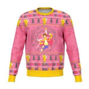 Cardcaptor Sakura Ugly Christmas Sweater