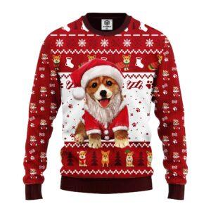 Corgi Noel Cute Ugly Christmas Sweater