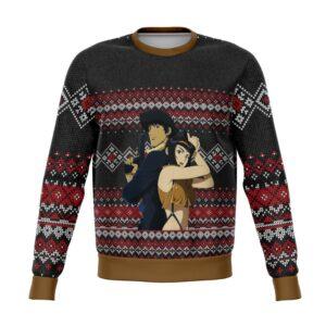 Cowboy Bebop Ugly Christmas Sweater