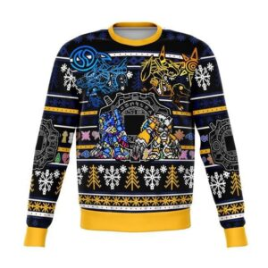 Digimon Ugly Christmas Sweater