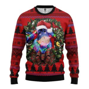 Dolly Winnie The Pooh Ugly Christmas Sweater