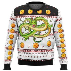 Dragon Ball Z Shenron Ugly Christmas Sweater
