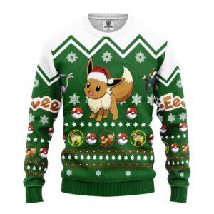 Eevee Pokemon Ugly Christmas Sweater