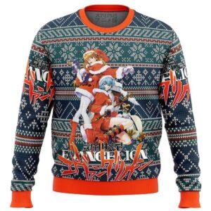 Evangelion Alt Ugly Christmas Sweater