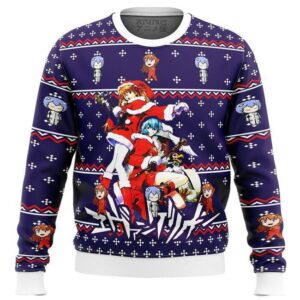 Evangelion Holiday Ugly Christmas Sweater