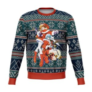 Evangelion Ugly Christmas Sweater