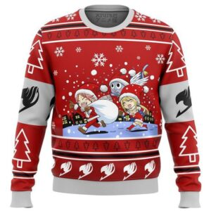 Fairy Tail Chibi Xmas Ugly Christmas Sweater