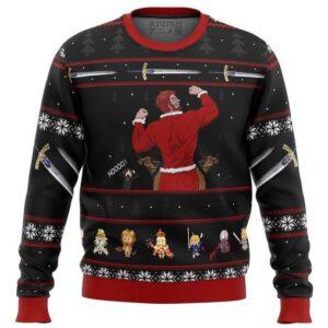 Fate Zero Rider Iskander Waver Ugly Christmas Sweater