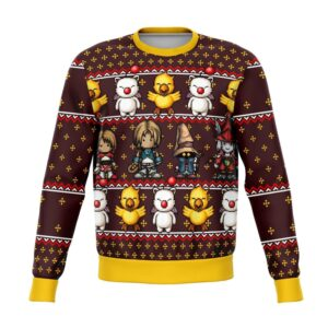 Final Fantasy ClassicBit Ugly Christmas Sweater