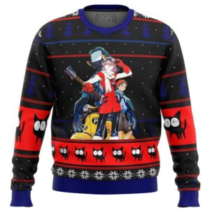 Flcl Poster Ugly Christmas Sweater