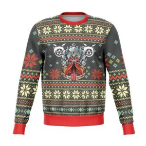 Full Metal Alchemist Ugly Christmas Sweater