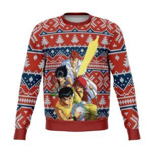 Ghost Fighter Yu Yu Hakusho Ugly Christmas Sweater