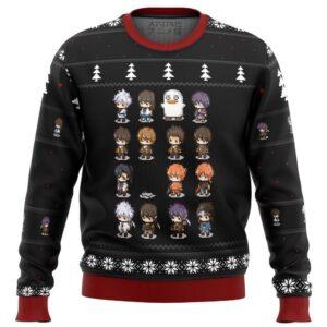Gintama Sprites Ugly Christmas Sweater