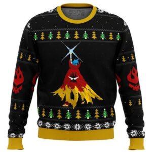 Gurren Lagann Kamina Ugly Christmas Sweater
