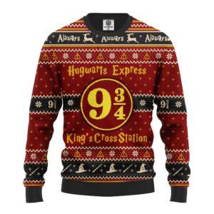 Harry Potter Hogwart 934 Ugly Christmas Sweater