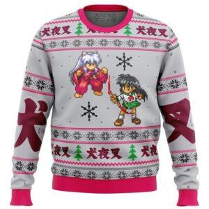 Inuyasha And Kagome Alt Ugly Christmas Sweater