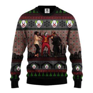 Joker Vs Ugly Christmas Sweater