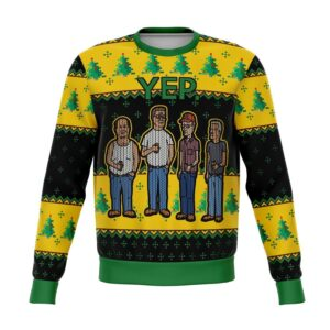 King Of The Hill Yep Ugly Christmas Sweater