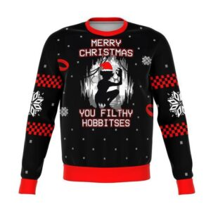 Lord Of The Rings Filthy Hobitses Ugly Christmas Sweater