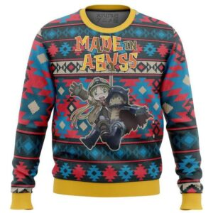 Made In Abyss Alt Ugly Christmas Sweater