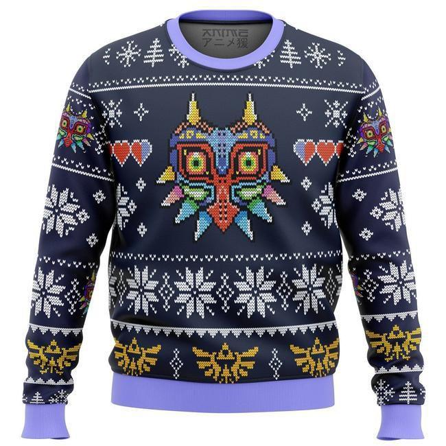 Majora'S Mask Legend Of Zelda Ugly Christmas Sweater
