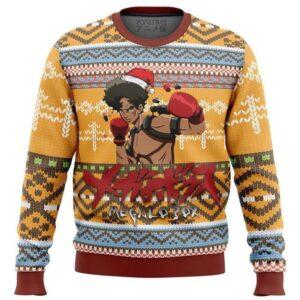 Megalo Box Alt Ugly Christmas Sweater