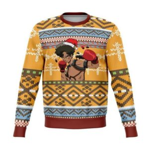 Megalo Box Ugly Christmas Sweater