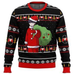 Mob Psycho00 Santa Ugly Christmas Sweater