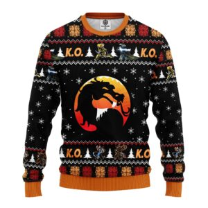 Mortal Kombat Ugly Christmas Sweater