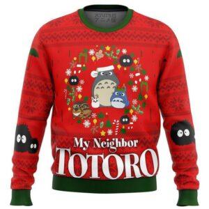 My Neighbor Totoro Christmas Ugly Christmas Sweater