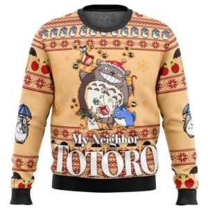 My Neighbor Totoro Friends Ugly Christmas Sweater