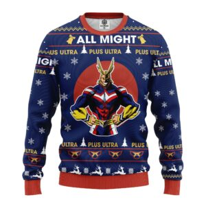 My Hero Academia Ugly Christmas Sweater