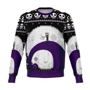 Nightmare Jack Moon Ugly Christmas Sweater