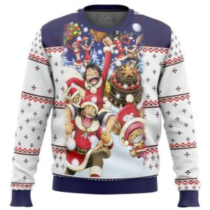 One Piece Crew Ugly Christmas Sweater