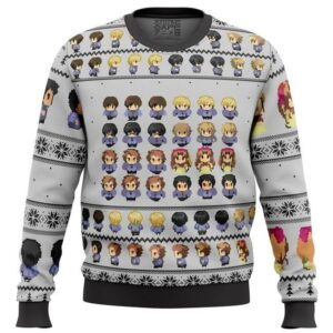 Ouran High School Host Club Sprites Ugly Christmas Sweater